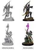 D&D Nolzur's Marvelous Minis - Elf Male Bards (2)