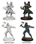 D&D Nolzur's Marvelous Minis - Human Male Rangers (2)