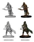 D&D Nolzur's Marvelous Minis - Human Female Rangers (2)