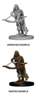 D&D Nolzur's Marvelous Minis - Human Female Ranger 1