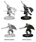 D&D Nolzur's Marvelous Minis - Elf Male Rangers (2)