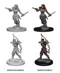 D&D Nolzur's Marvelous Minis - Elf Female Rangers (2)