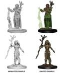 D&D Nolzur's Marvelous Minis - Human Female Druids (2)