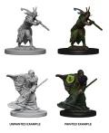 D&D Nolzur's Marvelous Minis - Elf Male Druids (2)
