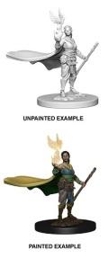 D&D Nolzur's Marvelous Minis - Elf Female Druid 1