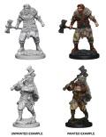 D&D Nolzur's Marvelous Minis - Human Male Barbarians (2)