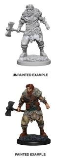 D&D Nolzur's Marvelous Minis - Human Male Barbarian 1