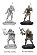 D&D Nolzur's Marvelous Minis - Human Female Barbarians (2)