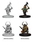 D&D Nolzur's Marvelous Minis - Dwarf Female Barbarians (2)