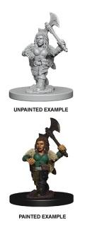 D&D Nolzur's Marvelous Minis - Dwarf Female Barbarian 1