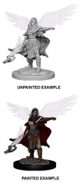 D&D Nolzur's Marvelous Minis - Aasimar Female Wizard 1
