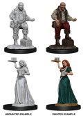 Pathfinder Deep Cuts - Serving Girl & Merchant (2)