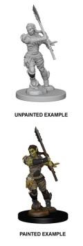 Pathfinder Deep Cuts - Half-Orc Female Barbarian 2
