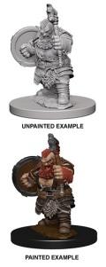 Pathfinder Deep Cuts - Dwarf Male Barbarian 1