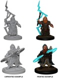 Pathfinder Deep Cuts - Dwarf Male Sorcerers (2)
