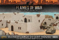 15mm WW2 Scenery - Ruined Large Desert House (1)