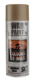 Flames of War Sprays - Sherman Drab Spray