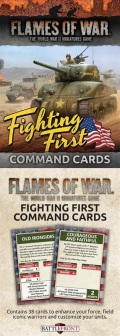 Flames of War - US Fighting First Command Cards (36)