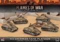 15mm WW2 US M4 Sherman Tank Platoon (5)
