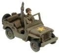 15mm WW2 US Armored Rifle Company HQ