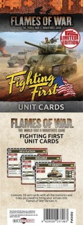 Flames of War - US Fighting First Unit Cards (29)