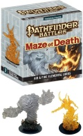 Pathfinder Battles - MAZE OF DEATH - Air & Fire Elemental Lords (2)