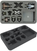 X-Wing - Feldherr HSBV040BO Foam Tray for Star Wars X-WING StarViper, M3-A Interceptor, IG-2000, Z-9