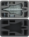 X-Wing - Feldherr HSDW085BO Foam Tray for Star Wars X-WING Imperial Assault Carrier, 4 Ships and Mor