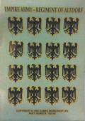 WHF - Empire - REGIMENT OF ALTDORF TRANSFER SHEET