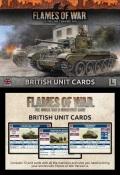 Flames of War - British Late War Unit Cards