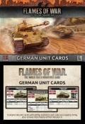 Flames of War - German Late War Unit Cards