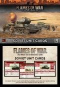 Flames of War - Soviet Late War Unit Cards