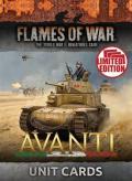 Flames of War - Italian Avanti Unit Cards (21)