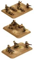 15mm WW2 Italian Bersaglieri MG & Mortar Platoon