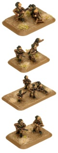 15mm WW2 Italian Bersaglieri Assualt Engineer Platoon