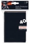 KÁRTYAVÉDŐ / DECK PROTECTORS - MTG - Oversized Black (40)