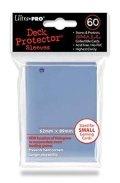 KÁRTYAVÉDŐ (kisebb) / DECK PROTECTORS Small Sleeves - Clear (60)