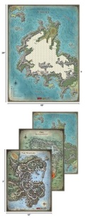 D&D - TOMB OF ANNIHILATION Map Set (4)