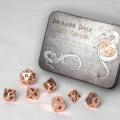 D&D DOBÓKOCKAKÉSZLET FÉM / METAL DICE SET BF Copper (7)