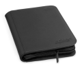 DOSSZIÉ / CARD ALBUM - Ultimate Guard 4-Pocket Zipfolio Xenoskin Black for Standard Sized Cards