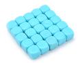 6 OLDALÚ DOBÓKOCKA 16 mm számozatlan, világoskék / 6 SIDED DICE 16mm Blank Dice Light Blue