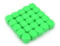 6 OLDALÚ DOBÓKOCKA 16 mm számozatlan, szöld / 6 SIDED DICE 16mm Blank Dice Green