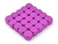 6 OLDALÚ DOBÓKOCKA 16 mm számozatlan, lila / 6 SIDED DICE 16mm Blank Dice Purple