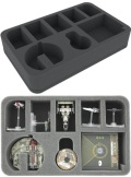 X-Wing - Feldherr HSEG050BO Foam Tray for Star Wars X-WING Punishing One, 5 Ships and Accessories