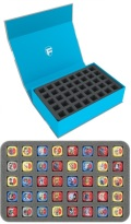 Feldherr Magnetic Box Blue for Star Wars Destiny (80 dice)