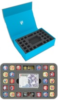 Feldherr Magnetic Box Blue for Star Wars Destiny (2 Decks and 48 Dice)
