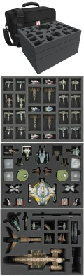 X-Wing - Feldherr MAXI Bag for Star Wars X-Wing Scum Wave 1 - 10 and C-ROC Cruiser