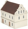 15mm WW2 Scenery - Terraced House - Special Edition Brown