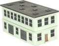 15mm Modern Scenery - Factory Building Special Edition Light Green