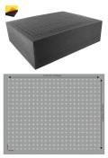 Feldherr FS100RS 100 mm (4 Inch) Figure Foam Tray Full-Size Raster Self-Adhesive